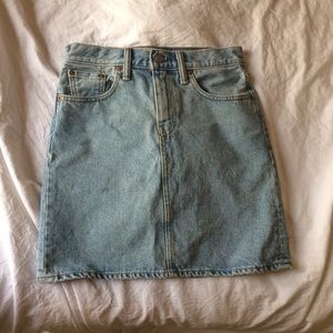 Levi's Every Day A line denim skirt